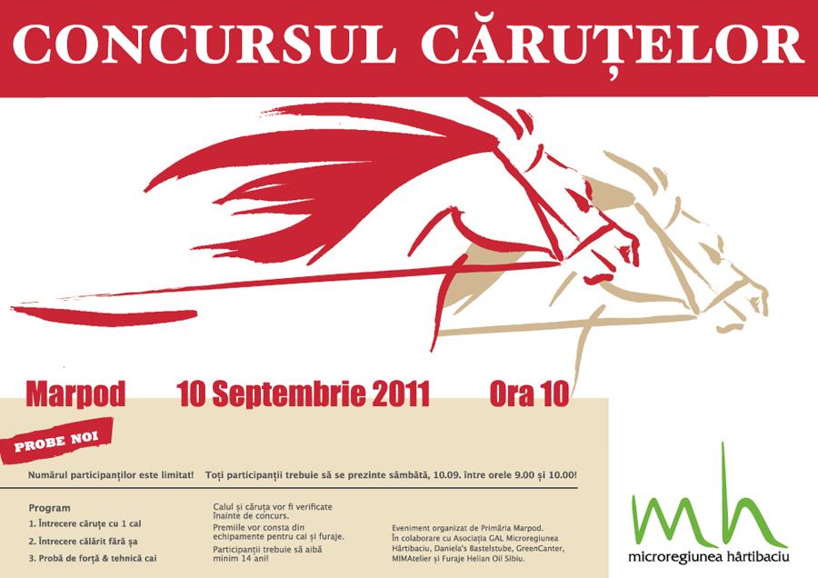 Concursul carutelor 2011 - Marpod, 10 septembrie